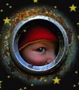 Dijete na prozorčiću