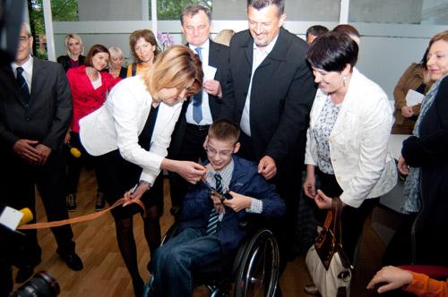 Marko Mađar otvorio prostor Hrvatskog saveza udruga cerebralne i dječje paralize