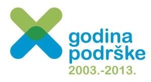 Logo za 10 godina Nacionalne zaklade