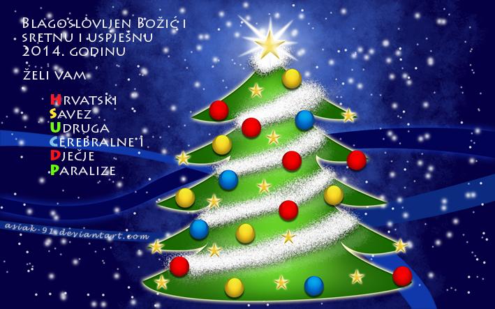 Blagoslovljen Božić i sretna i uspješna 2014. godina
