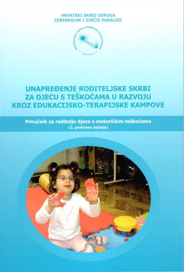 Priručnici Hrvatskog saveza udruga cerebralne i dječje paralize