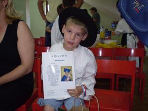 Marko s diplomom