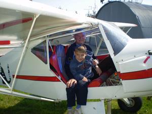 Marko u avionu