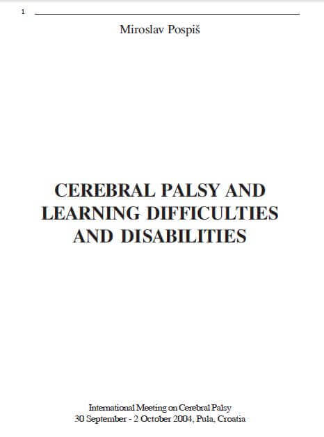 Cp and learning difficulties