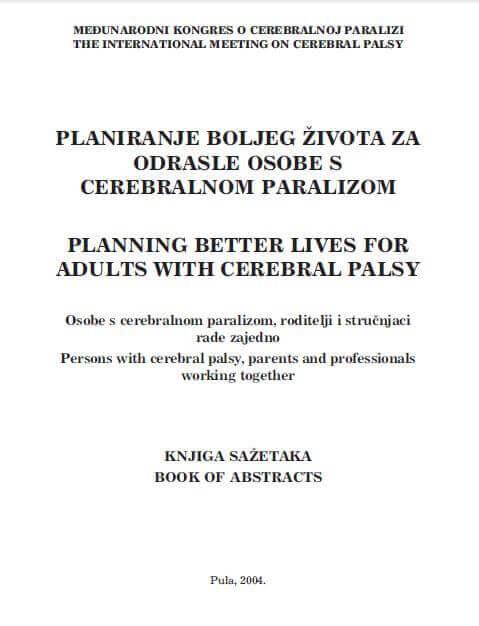 Planiranje boljeg života za odrasle osobe s CP