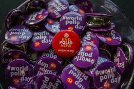 24. listopada Svjetski dan borbe protiv dječje paralize