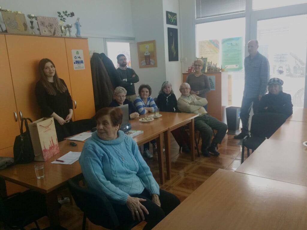 tematsko predavanje voditeljice programa