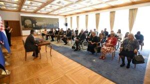 Predsjednik Milanović razgovarao s izaslanstvom Zajednice saveza osoba s invaliditetom Hrvatske 3