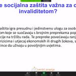 """Edukacija """"Prema inkluzivnim sustavima socijalne zaštite koji podržavaju puno i učinkovito sudjelovanje osoba s invaliditetom"""""""