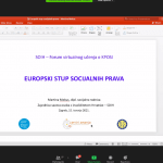 """Online edukacije """"Unaprjeđenje socijalne zaštite – poticaj smanjenju siromaštva osoba s invaliditetom"""""""